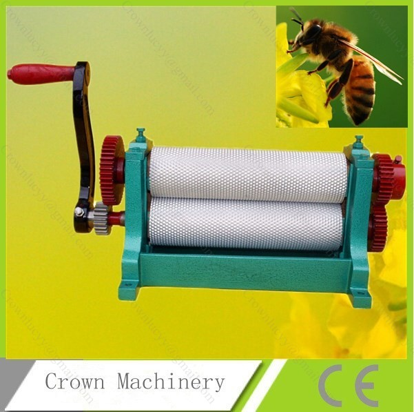 Free Shipping Bees wax foundation machine 86 310mm