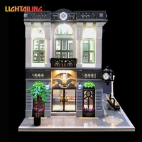 LIGHTAILING Led Light Up Kit For Creator Brick Bank Building Block Model Light Set Compatible With