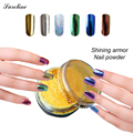 saroline glitter Choice Chrome Nail Art Gel Polish Mirror Powder Sequins Nail Beauty Nail Art Decoration Powder Pigment