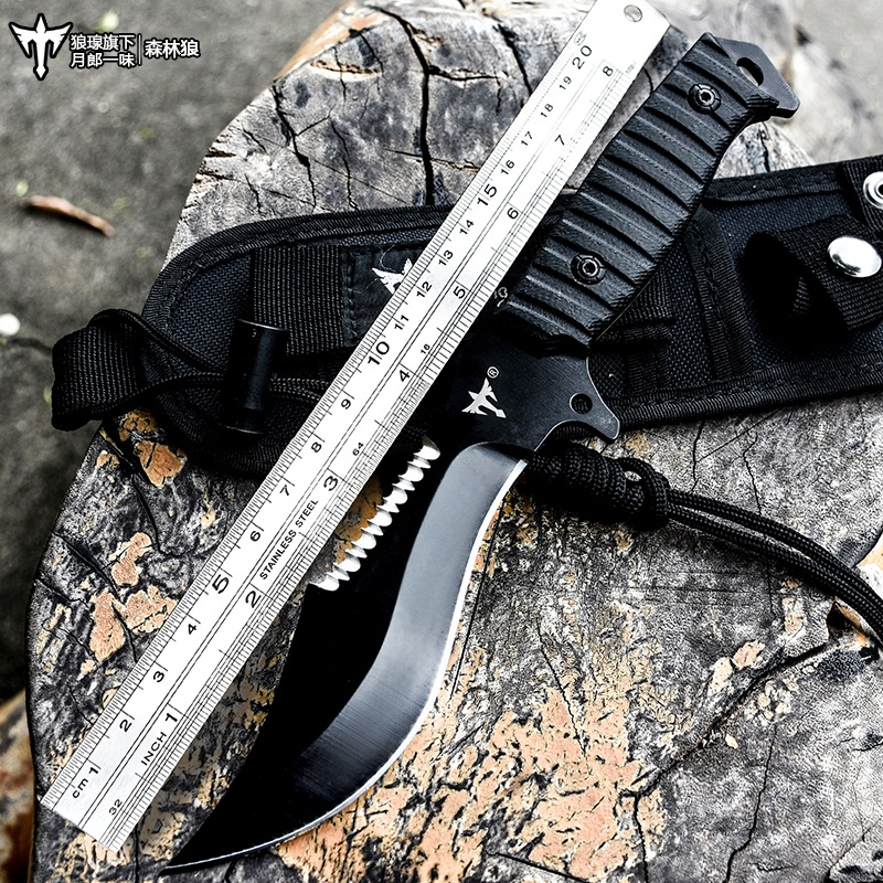 Voltron outdoor camping survival tactical straight knife, wilderness survival knife, American special swordVoltron outdoor camping survival tactical straight knife, wilderness survival knife, American special sword