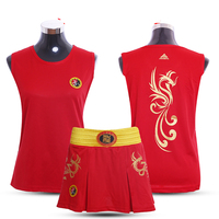 JDUanL Phoneix Kids Girls/Women Sanda Wushu MMA Boxing Short Skirts+T Shirts Martial Arts Muay Thai Uniforms Fight Outfits DCE