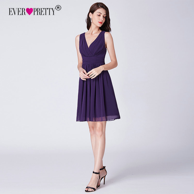 5cec9624823 Detail Feedback Questions about Purple Bridesmaid Dresses Short Ever ...