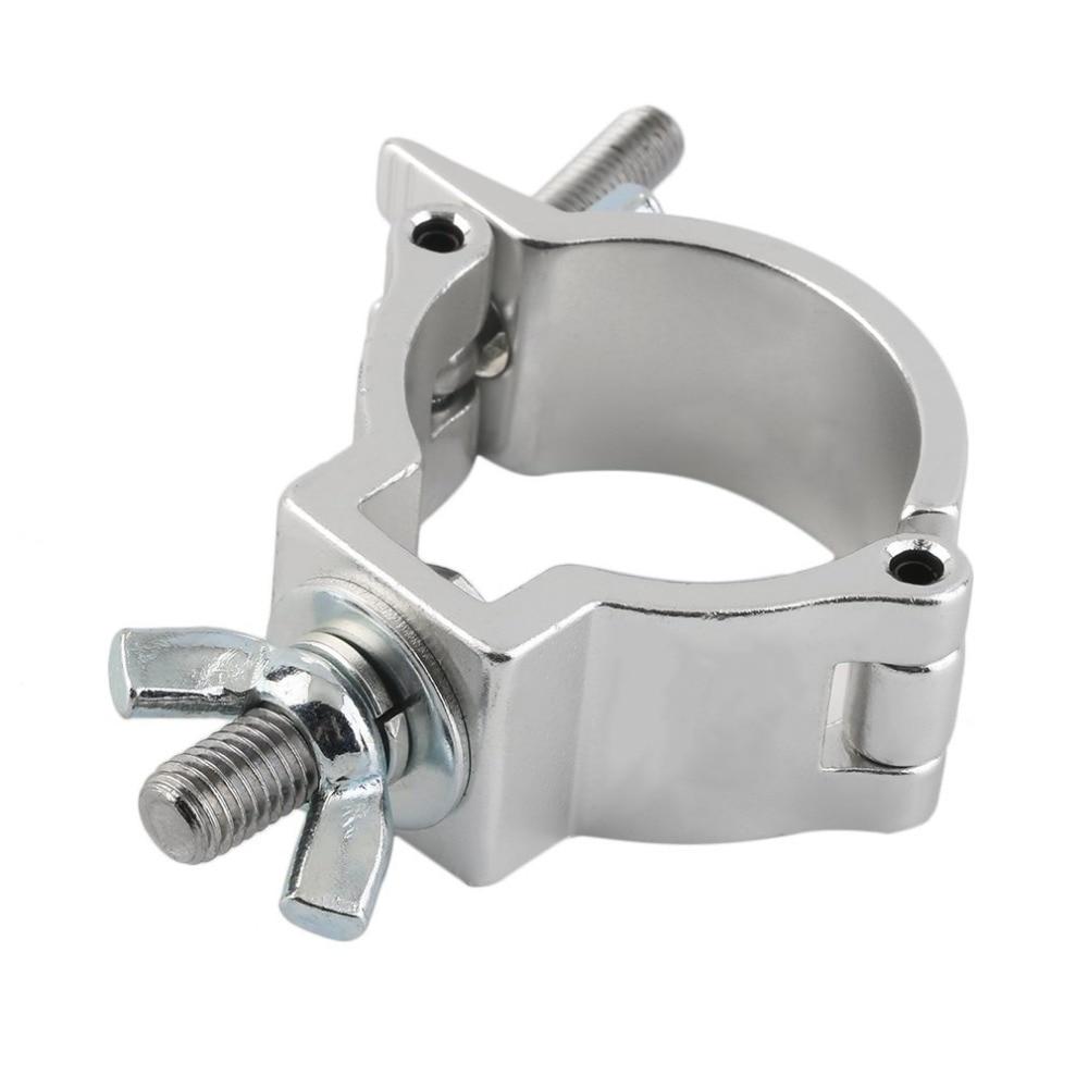 Alumimun Alloy DJ Light Aluminium Material Stage Light 100kg 48-51mm Hook Light Clamp Holder LED Stage Effect Light Truss