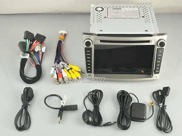 アンドロイド 9.0 車の Dvd ナビプレーヤースバルアウトバック/レガシィオーディオマルチメディアオートステレオサポート DVR WIFI DAB OBD オールインワン