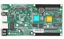HD C10非同期hub75データインターフェースrgbフルカラーled表示制御カード、112 × 1024ピクセル、lan usb制御カード