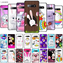 Lavaza Lovely Easter bunny easter eggs Soft Phone Cover for Samsung Galaxy S8 S9 S10 Plus A6 A8 A9 2018 A30 A50 TPU Case