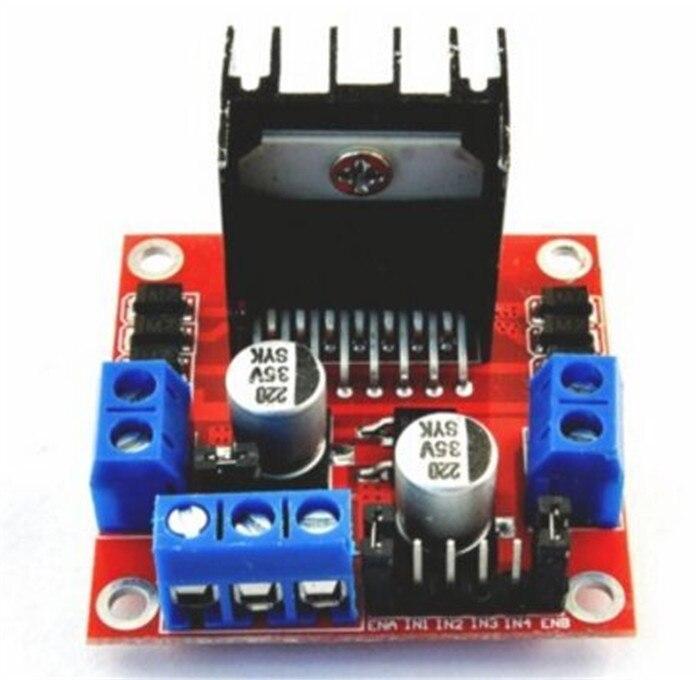 5pcsL298N Stepper DC Motor Driver Shield Expansion Development Board for Arduino DIY Car Robot Mega UNO