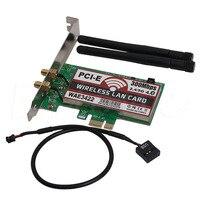 Высокое качество двухдиапазонный Bluetooth 4 0 PCI-e PCI 300 Мбит/с экспресс-карта сеть Wlan WiFi адаптер оптовая продажа