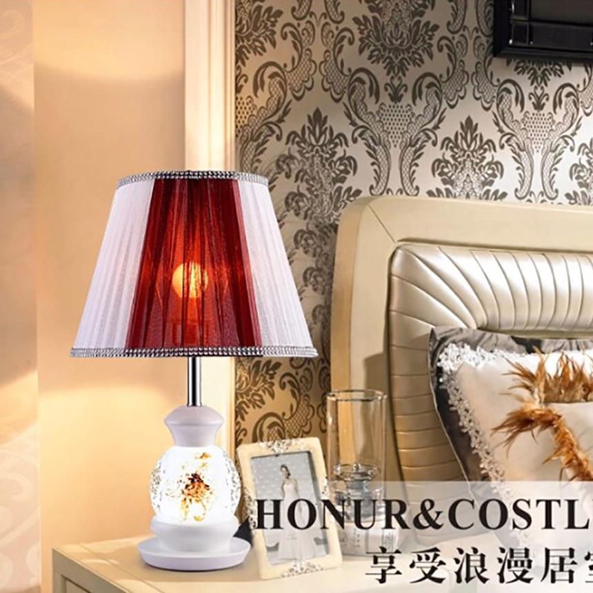 Здесь можно купить   2016 Fashion Ceramic E27 desk lamps modern led table lamp AC 90-260v luminaria de mesa lampara led escritorio lampada led 110v Строительство и Недвижимость