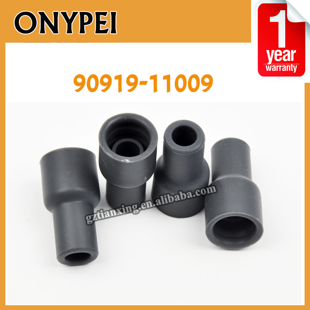 Spark Plug Cap Connector Ignition Coil Rubber For Toyota Genuine 90919-11009 90919 11009 coils Tip Cover 9091911009