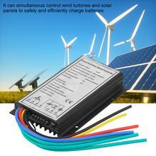 12 В/24 В 400/800 Вт Ветер 500/1000W солнечная энергия Гибридный заряд контроллер генератора ветра солнечный гибридный контроллер