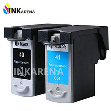 2 шт. PG-40 Cl-41 Картридж для Canon PG40 CL41 Black & цвет Для Canon MP450 MX300 MX310 MP160 MP140 PIXMA IP1600 IP1900