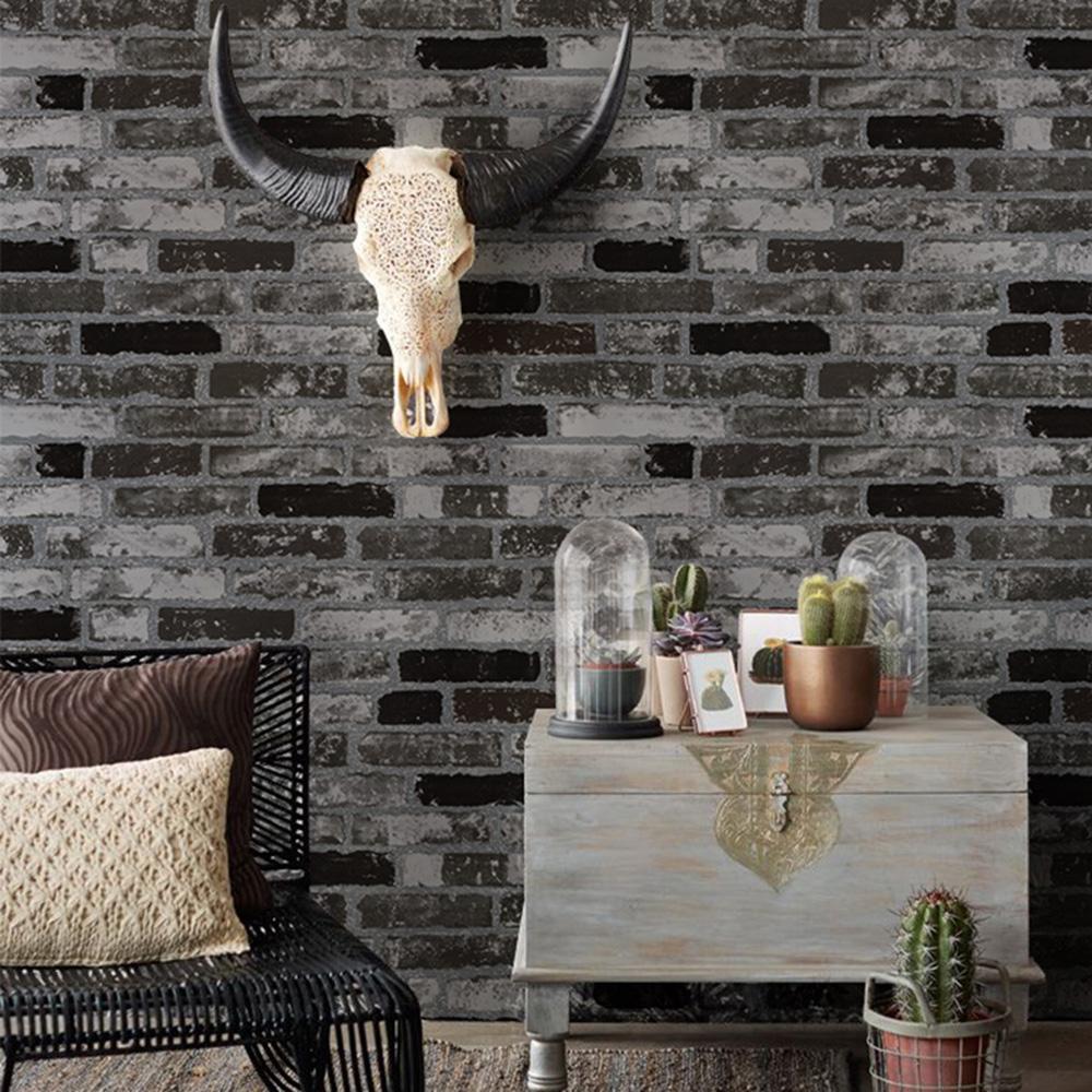 wand stein dekoration-kaufen billigwand stein dekoration partien ... - Stein Tapete Schwarz Wohnzimmer