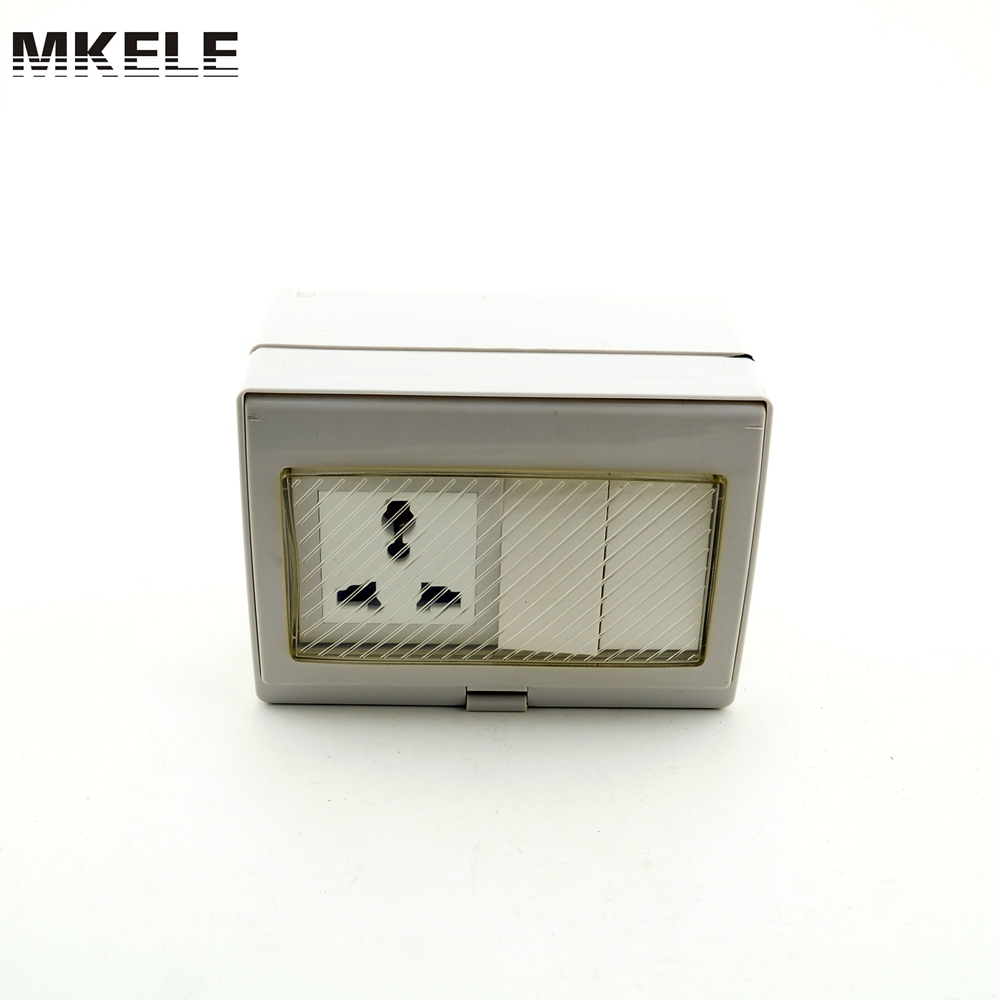 Waterproof Bathroom Light Switch: High Quality MK SBU2S 2 Gang Waterproof Wall Switches