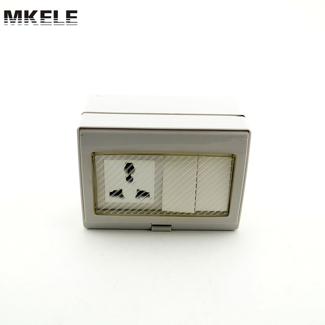 High Quality MK SBU2S 2 Gang Waterproof Wall Switches Touch ...