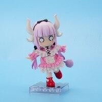 Alice connor 12cm in Wonderland Alice Nendoroid Action kobayashi Figure Real Clothes Ver. Alice Doll PVC kanna kamui Toy NE8