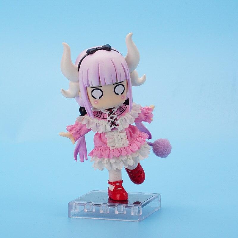 Alice connor 12cm in Wonderland Alice Nendoroid Action kobayashi Figure Real Clothes Ver. Alice Doll PVC kanna kamui Toy