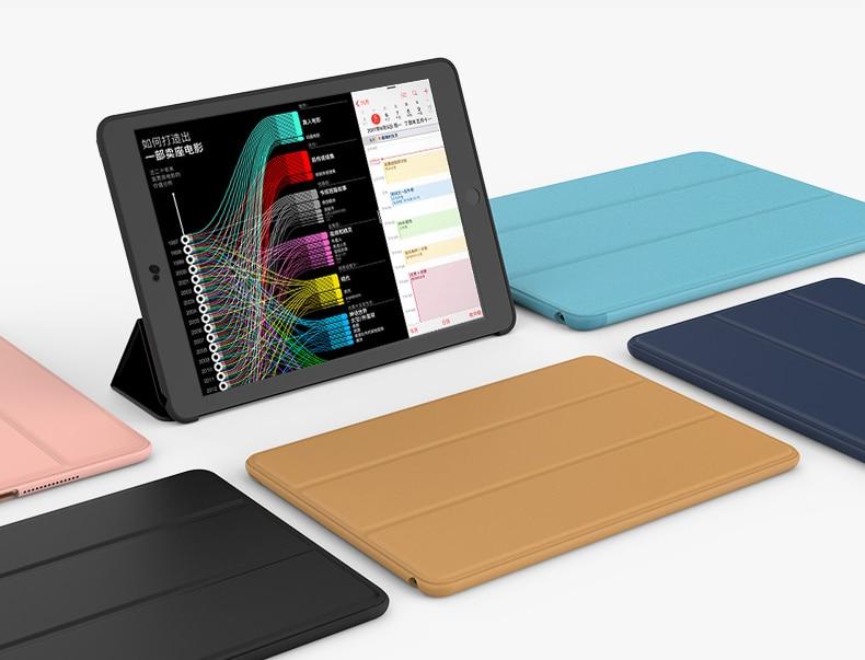 Case For Ipad Mini 1 Mini 2 Mini 3 ,YRSKV-Smart Case Original 1:1 Ultra Slim Light Weight Smart Auto Sleep Wake Tablet Case