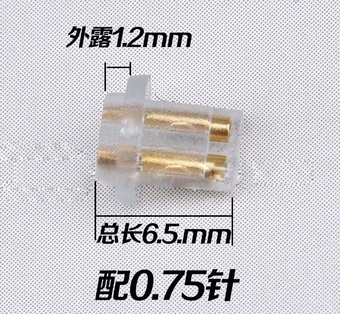 50pcs new Female Port Socket 0.75mm diy interchangeable Earphone Pins Plug For DIY UE TF10 UE5 PRO UE7 PRO UE18 PRO Short leg