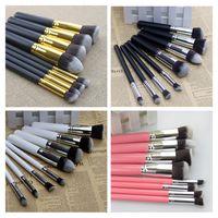 8Pcs Makeup Brushes Set Beauty Cosmetics Eyebrow Shadow Lip Face Concealer Powder Foundation Pincel Make Up