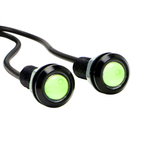 2pcs 18mm Eagle Eye LED Car DRL Daytime Running Lights Automobile Reverse Parking Singal Lamps Car-styling Auto Accessories
