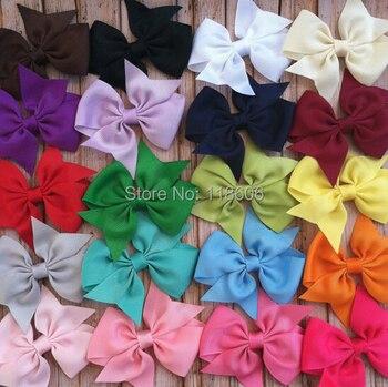 100PCS/lot Pinwheel Hair Bows (Medium) Free Shipping