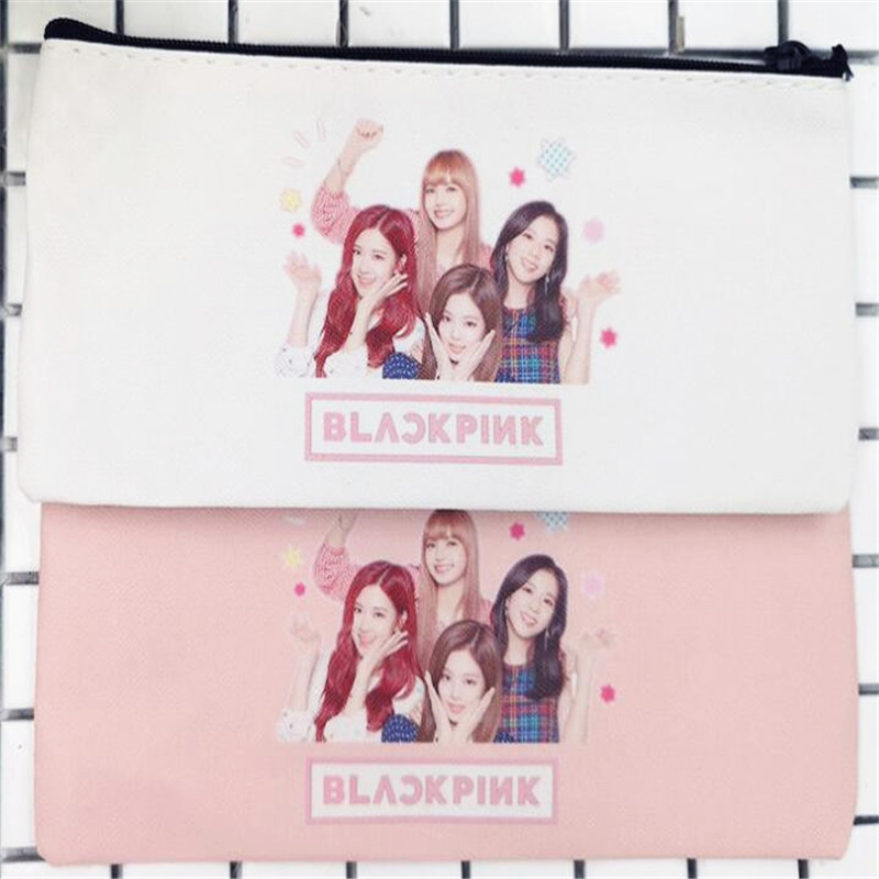 Kpop Blackpink Pencil Case Coin Case,blackpink Lisa Jisoo Jennie Rose Concert Supply,m032 Costumes & Accessories Novelty & Special Use