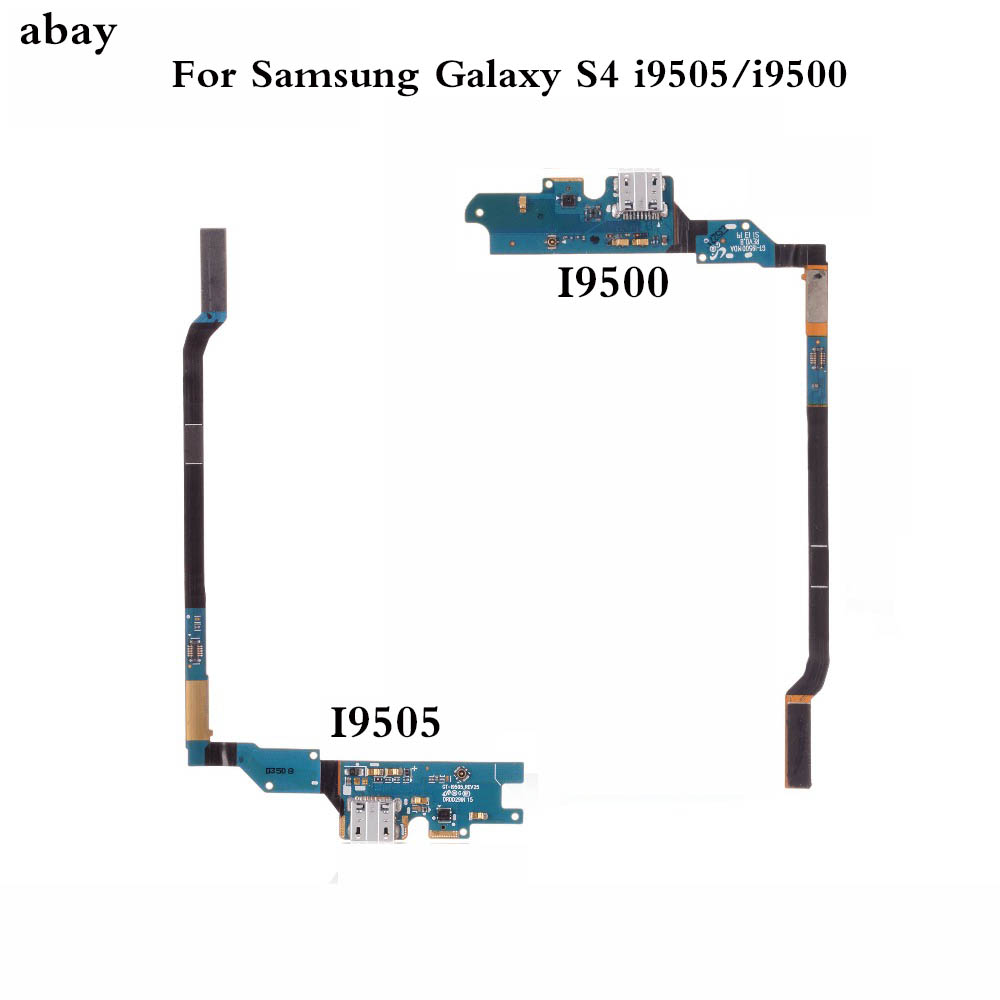 For Samsung Galaxy S4 I9505/i9500 Dock Connector Charger Charging Port USB Flex Cable Repair Parts For Samsung Galaxy S4 Dock