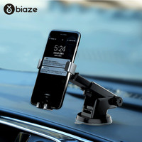 Biaze Gravity Car Phone Holder Mobile Phone Holder Stand For Car Air Vent Mount GPS Car Phone Holders With Gift|Phone Holders & Stands| |  -