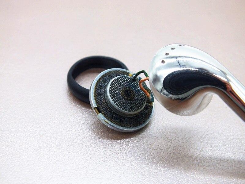DIY 16 mm Fieber Einheit Aluminium Metall Kopfhörer Headset Noise - Tragbares Audio und Video - Foto 6