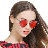 2017 Sunglasses For Women Polarized driver Glasses Fashion Brand Cat Eye sunglass Female Vintage Sun Glasses UV400 Oculos woman