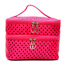 2017 New Cosmetic Bag women's Large Capacity Storage Handbag Travel Ttoiletry Makeup Bag Pouch Organizer Neceser