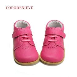 COPODENIEVE Echtem leder Jungen schuhe Leder schuhe jungen wohnungen Schuhe für mädchen Turnschuhe kinder casual schuhe NmdGenuine leathe