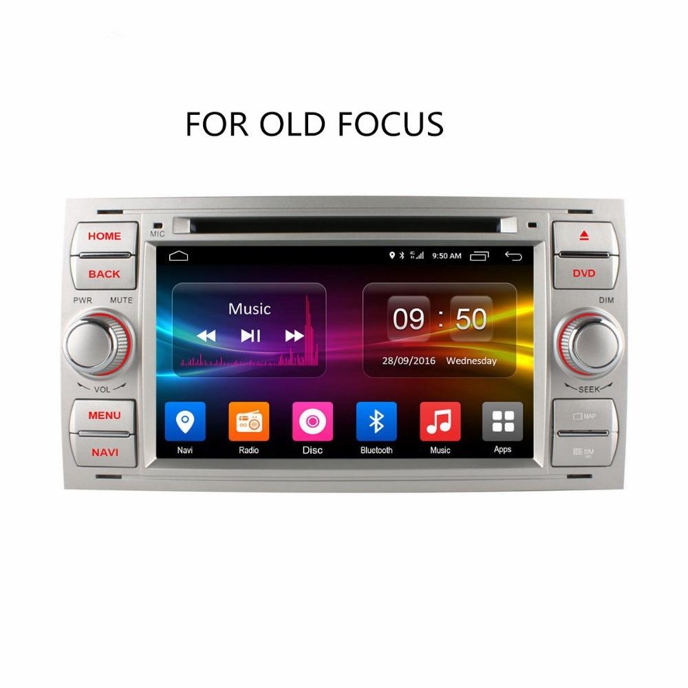 Автомобильный медиа C500 Android 6,0 Octa 8 Core в тире Автомобильный DVD плеер для Ford Mondeo Focus Transit C MAX радио gps навигатор Поддержка 4 аппарат не привязан к о