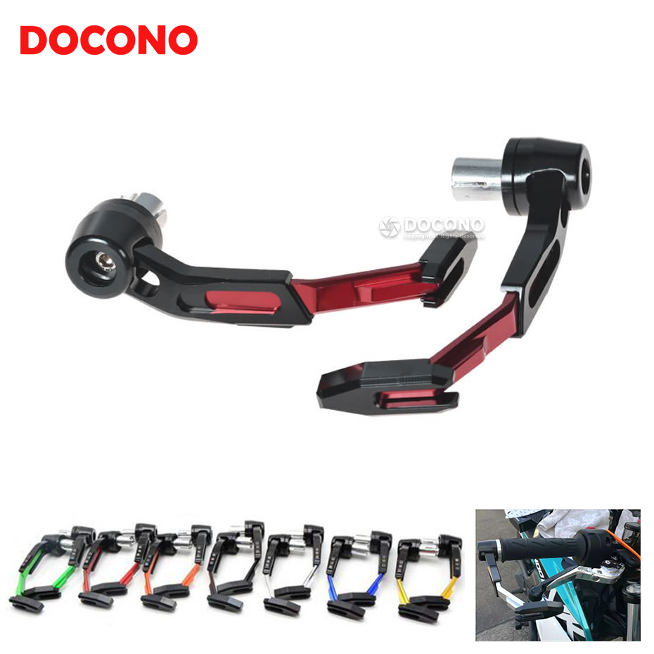 Universal Motorcycle CNC Brake Clutch Levers Guard Protector For honda CBF1000 CB1300 CBR600F CBR 250 600 900 1000 RR CB400 10 colors for honda vf750s sabre vfr750 vfr800 f x4 vtr1000f superhawk cbf1000 cnc short long hot motorcycle clutch brake levers