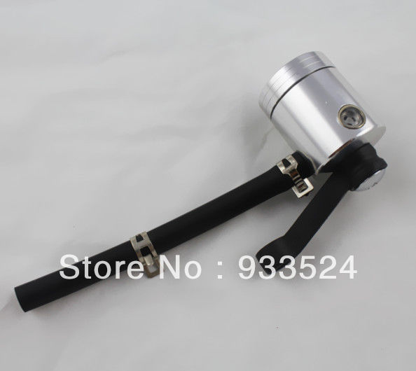 1 <font><b>Pcs</b></font> Silver Universal Motorcycle Master Cylinder Fluid Oil Reservoir Front Brake Clutch Tank For Ducati monster <font><b>BMW</b></font> Aprilia Ktm image