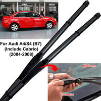 Car Wiper Blade Windshield Wiper for Car Janitors Windscreen Wipers For Audi A4 B6 Avant S4 B5 B7 B8 B9