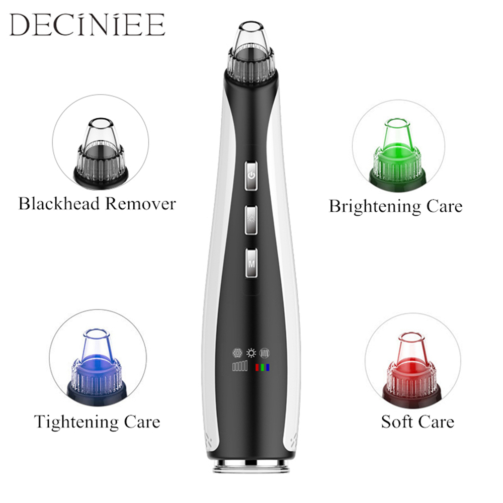 Blackhead Remover Tool Skin Care Face Pore Vacuum Suction Cleaner Pimple Acne Removal Facial Exfoliator Cleaning Machine electric blackhead vacuum remover suction acne pimple removal machine face cleaning skin care tool