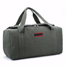 Fashion Durable Brand Men Travel Bags Large Capacity 36-55L Women Luggage Duffle Bags Waterproof Canvas Folding Bag For Trip