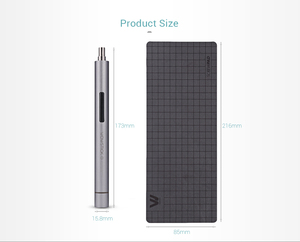 Image 5 - XIAOMI Wowstick 1F Pro Mini Electric Screw driver Rechargeable Cordless Power Screw Driver Kit With LED Light Lithium Battery