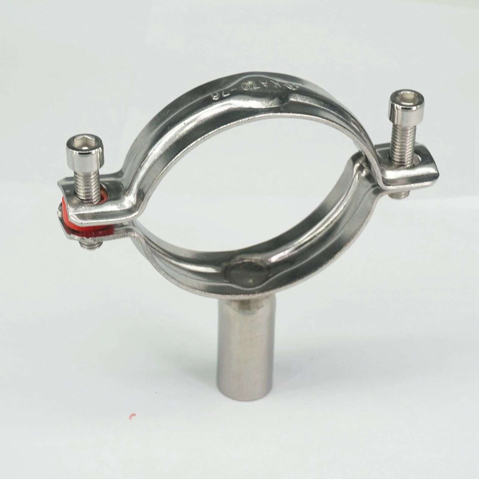 Mm quot stainless steel sanitary pipe clamp clips