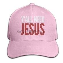 Y all necesidad Jesús Christian hombres mujeres algodón ajustable gorra de  béisbol(China) c7432f57638