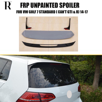 MK7 ABS Unpainted GT Style Rear Rook Wing Spoiler for Golf 7 MK7 Standard 2014 2017 ( can't fit GT I & R )