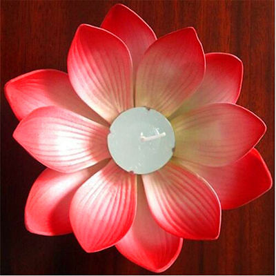 Outdoor Floating Lotus Candle Holder Light Pool Pond Garden Water Flower Candlestick Votive 1pieces In Holders From Home On