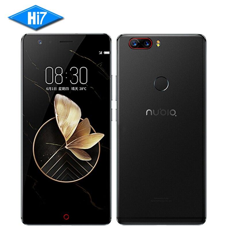 NEW Original Nubia Z17 6GB RAM 64GB ROM 5.5 inch Snapdragon 835 Octa Core Android 7.1 Dual Rear Camera 3200mAh LTE Mobile Phone