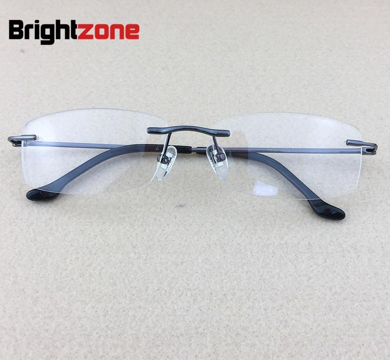 Pure Titanium Myopia Spectacle Frame Տղամարդկանց - Հագուստի պարագաներ - Լուսանկար 1