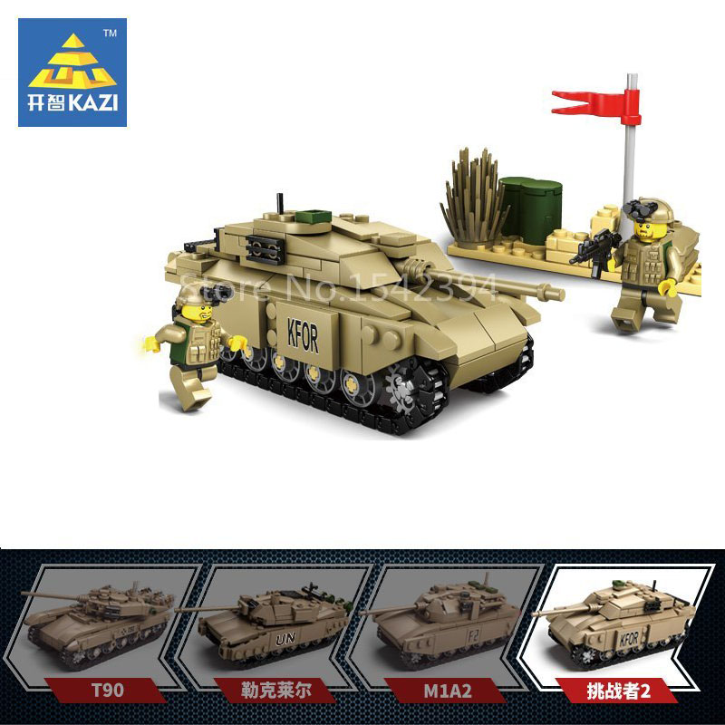 kazi military series t 90 main battle tank diy model building kits