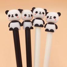 2 Pcs/lot Cute Panda Animal Gel Pen Ink Promotional Gift Stationery School & Office Supply
