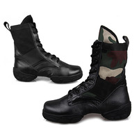Hot In Selling Adult Dance Sneakers New Style Black And Camouflage Colors High Quality Dance Shoes