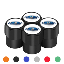 купить 4PCS Aluminum Car Wheel Tires Valves Tyre Stem Air Caps For Lada Vaz Samara 2110 Niva Kalina Priora Granta Largus Car Accessorie по цене 43.57 рублей